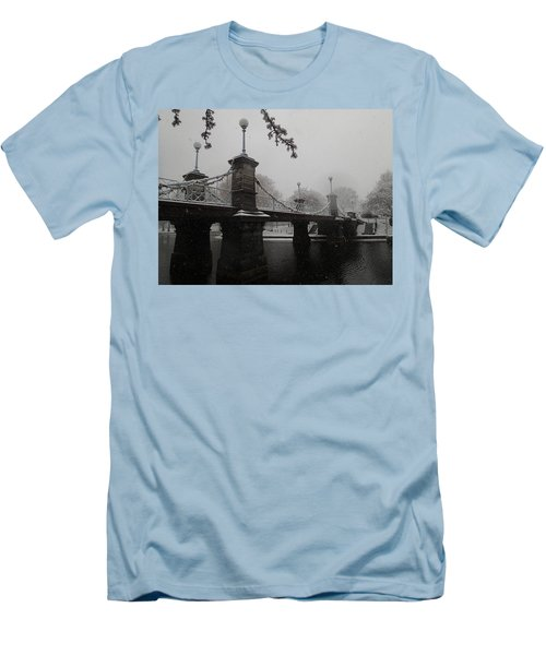Bridge In Suspension 1867 Men's T-Shirt (Athletic Fit)
