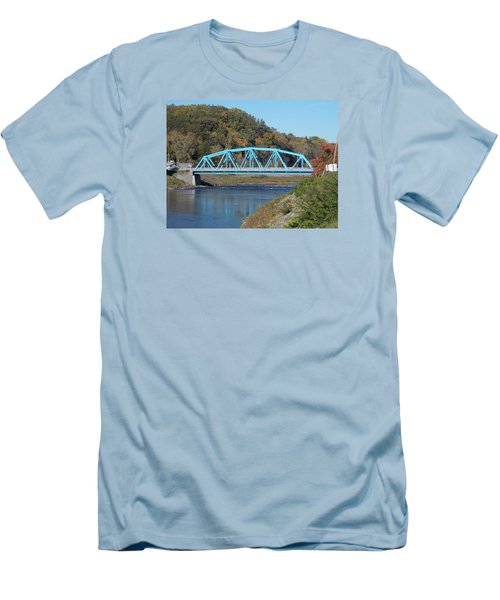 Bridge Over Rondout Creek 2 Men's T-Shirt (Athletic Fit)