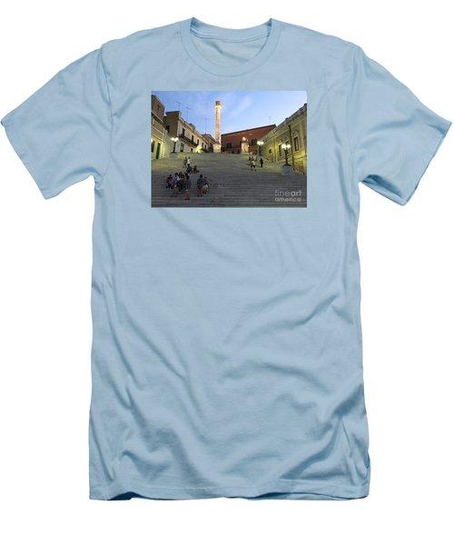 Brindisi Colonne Appian Way Men's T-Shirt (Athletic Fit)