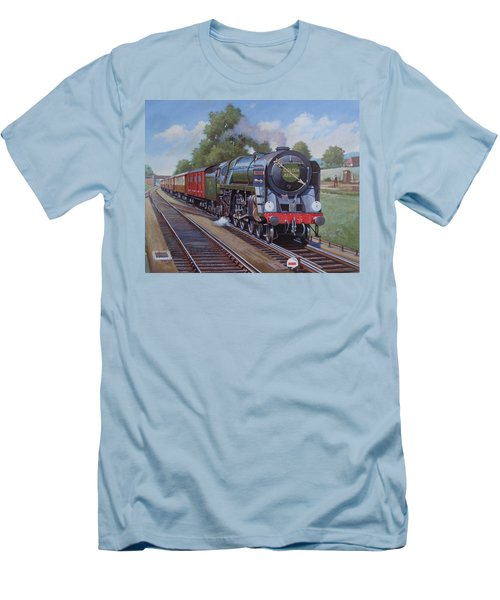 Britannia Pacific On The Golden Arrow. Men's T-Shirt (Slim Fit) by Mike  Jeffries