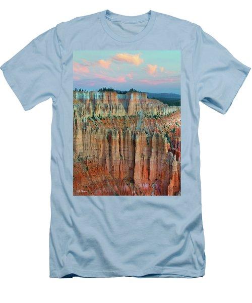 Bryce Canyon Men's T-Shirt (Slim Fit) by Tim Fitzharris