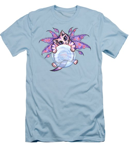 Bubble Fairy Kitten Men's T-Shirt (Athletic Fit)