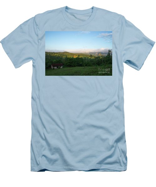 Bucolic Vinales I Men's T-Shirt (Athletic Fit)