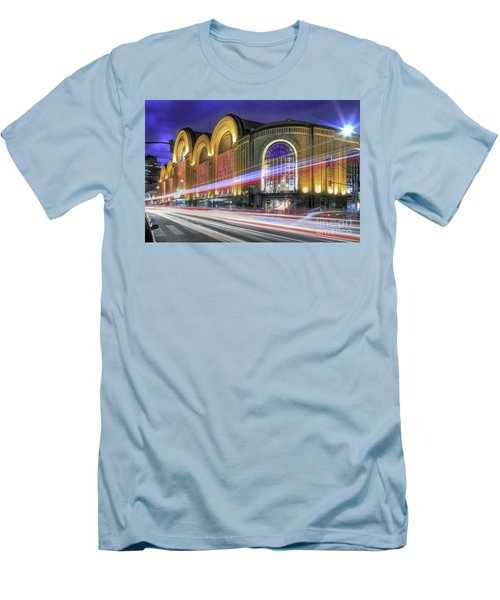 Buenos Aires 002 Men's T-Shirt (Slim Fit) by Bernardo Galmarini