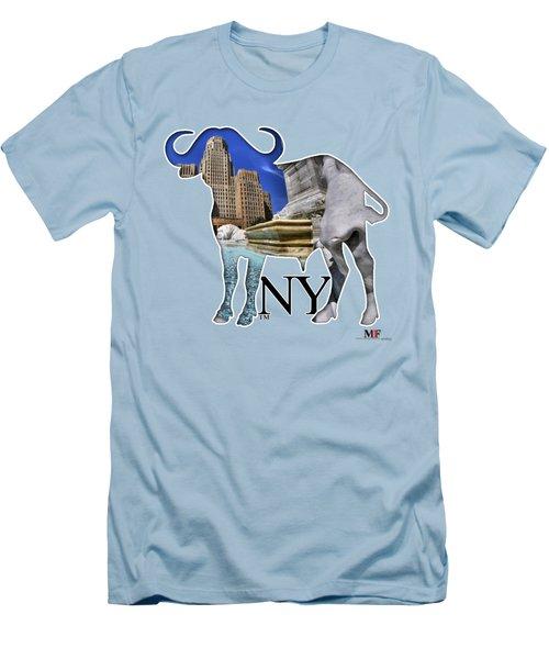 Buffalo Ny City Hall Niagara Square  Men's T-Shirt (Athletic Fit)