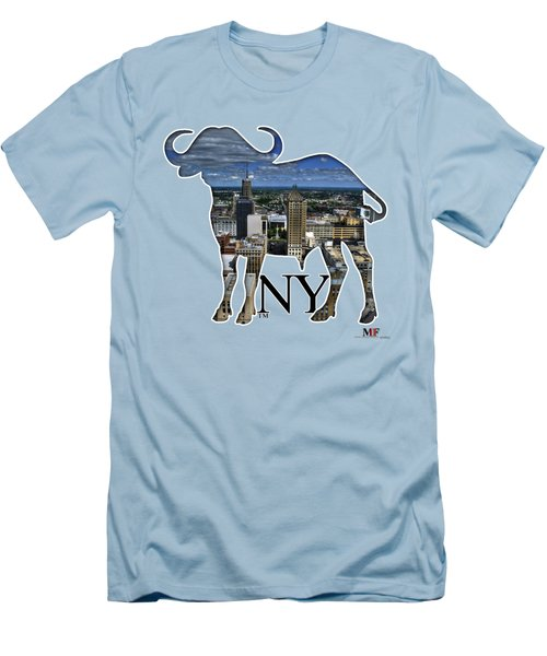 Buffalo Ny Court St Men's T-Shirt (Athletic Fit)