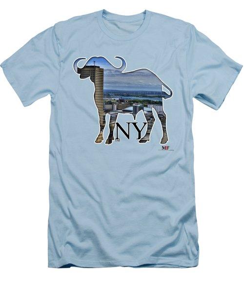 Buffalo Ny Skyway Men's T-Shirt (Athletic Fit)