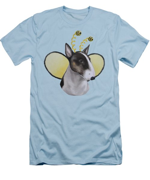 Bully Bee Men's T-Shirt (Slim Fit) by Jindra Noewi