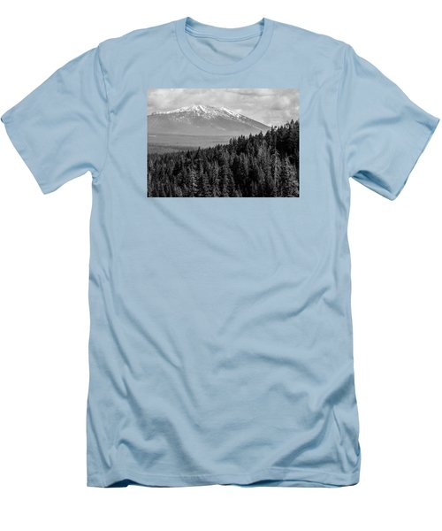Burney Mountain Men's T-Shirt (Athletic Fit)
