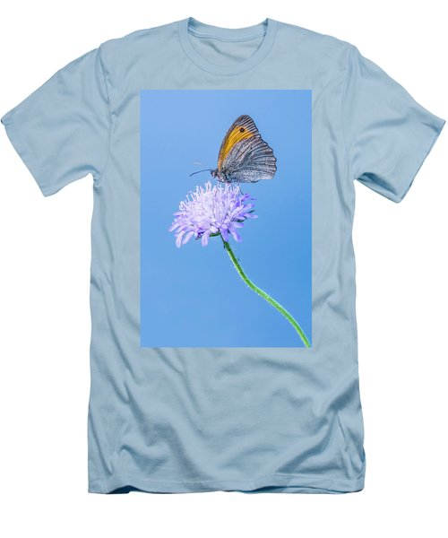 Men's T-Shirt (Slim Fit) featuring the photograph Butterfly by Jaroslaw Grudzinski