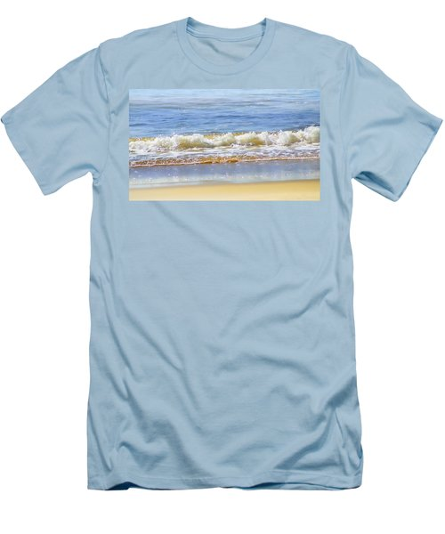 By The Coral Sea Men's T-Shirt (Slim Fit) by Holly Kempe