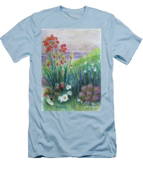 By The Garden Wall Men's T-Shirt (Athletic Fit)