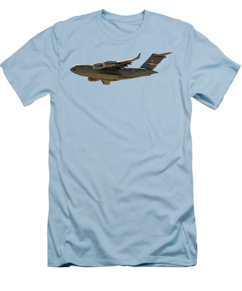 C-17 Globemaster IIi Men's T-Shirt (Slim Fit) by Mark Myhaver