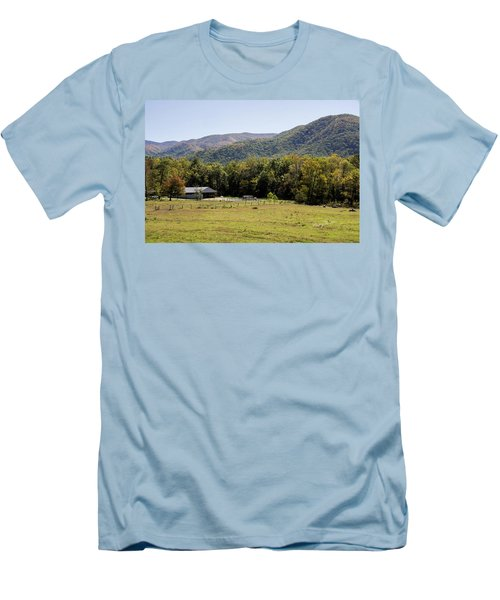 Cades Place Men's T-Shirt (Slim Fit) by Ricky Dean