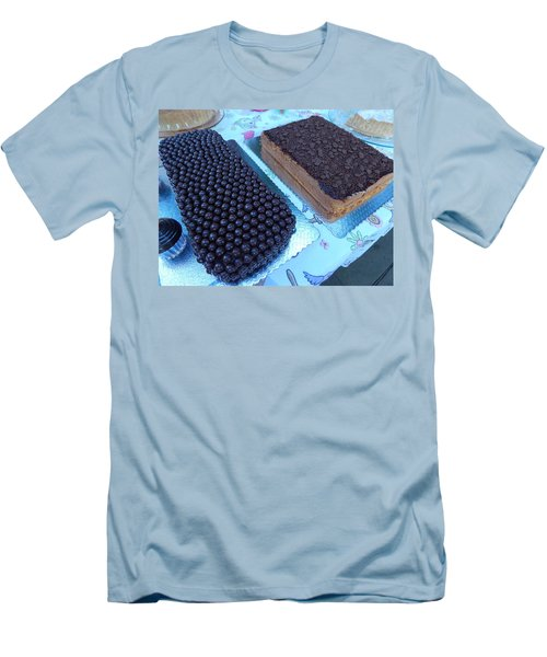 Men's T-Shirt (Slim Fit) featuring the photograph Cake And Dreams by Beto Machado