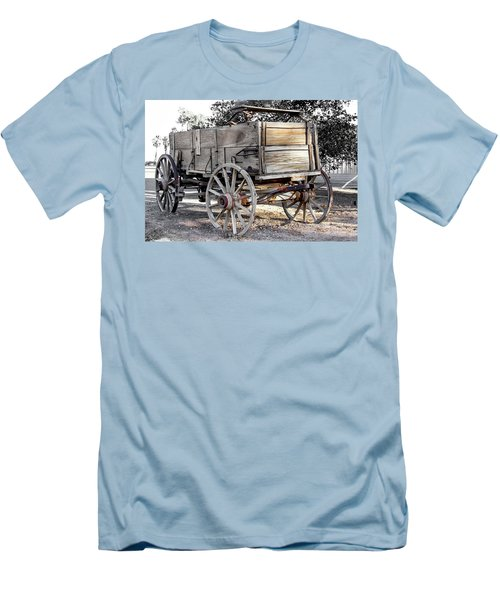 California Farm Wagon Men's T-Shirt (Athletic Fit)