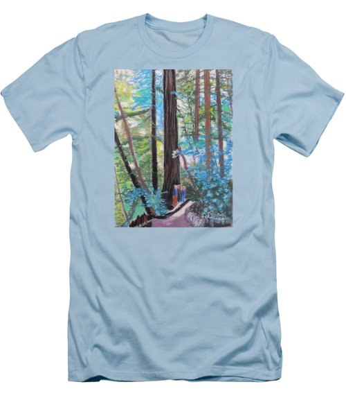 California Redwoods Near San Jose Men's T-Shirt (Athletic Fit)