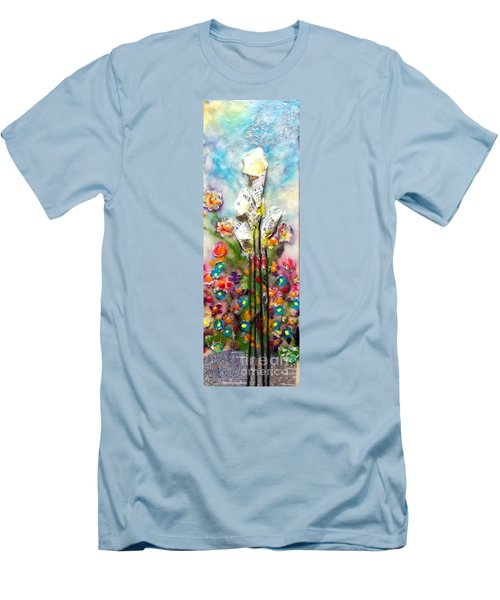Calla Lily Dance Men's T-Shirt (Athletic Fit)