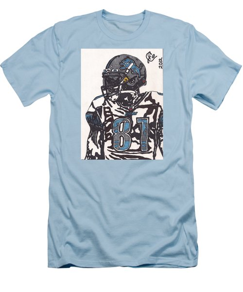 Calvin Johnson Jr 3 Men's T-Shirt (Slim Fit) by Jeremiah Colley