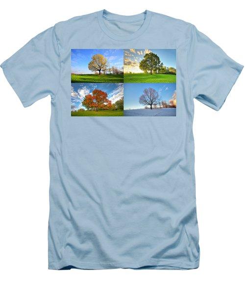 Canadian Seasons Men's T-Shirt (Athletic Fit)