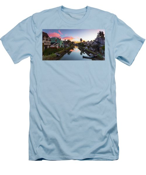 Canals Of Venice Beach Men's T-Shirt (Athletic Fit)