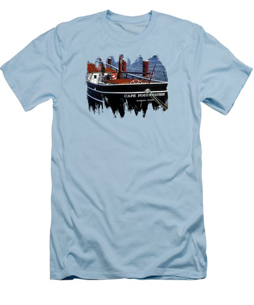 Cape Foulweather Two Men's T-Shirt (Slim Fit) by Thom Zehrfeld