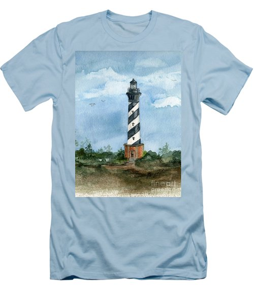Cape Hatteras Lighthouse  Men's T-Shirt (Athletic Fit)
