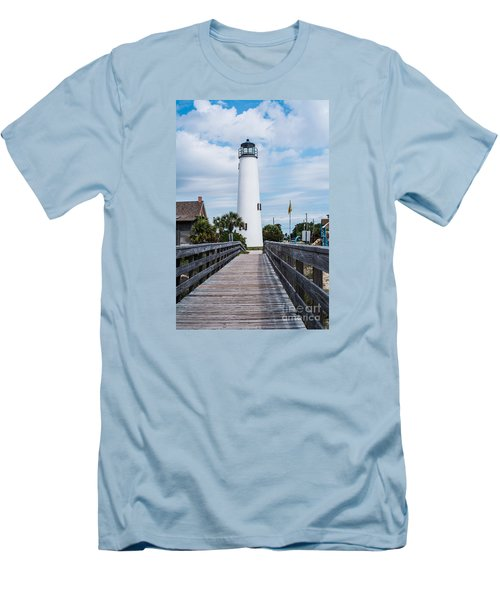 Cape St. George Lighthouse Men's T-Shirt (Athletic Fit)