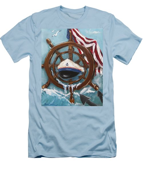Captain's Home Men's T-Shirt (Athletic Fit)