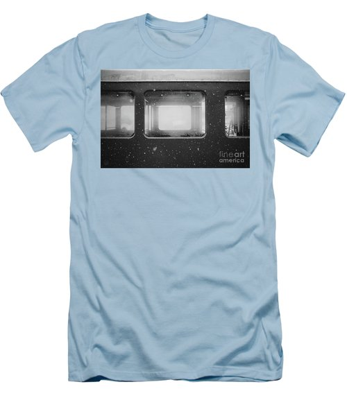 Men's T-Shirt (Slim Fit) featuring the photograph Carriage by MGL Meiklejohn Graphics Licensing
