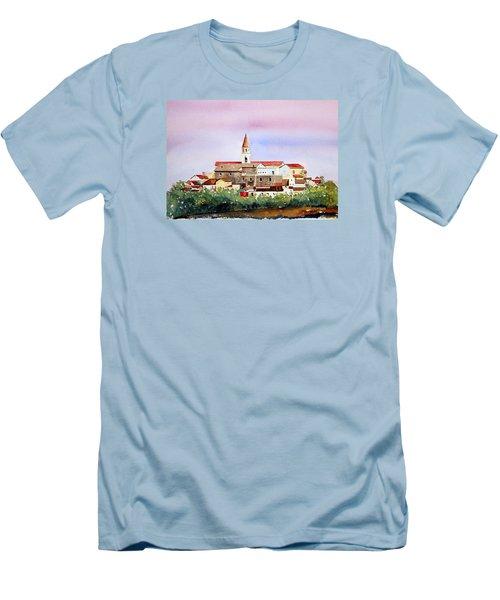 Castelnuovo Della Daunia Men's T-Shirt (Slim Fit) by William Renzulli