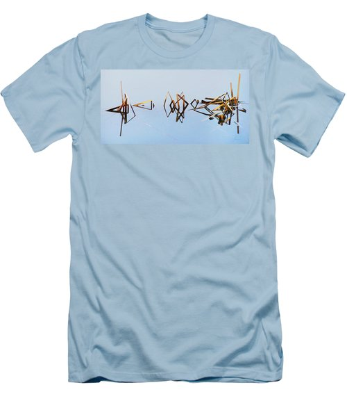 Cattail Reflections Men's T-Shirt (Athletic Fit)
