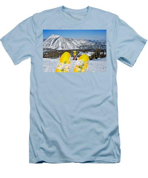 Caution Men's T-Shirt (Athletic Fit)