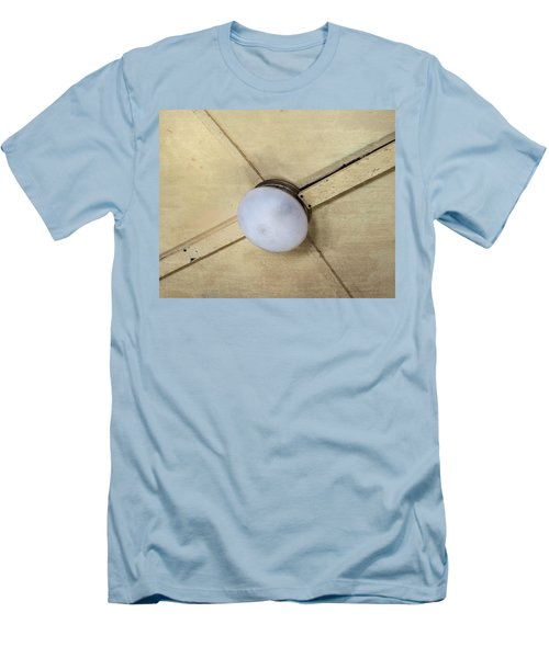 Ceiling Light On Antique Train Men's T-Shirt (Athletic Fit)