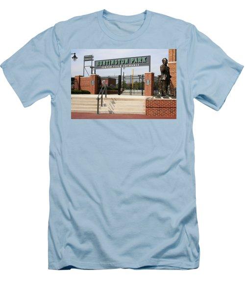 Center Field Entrance At Huntington Park  Men's T-Shirt (Athletic Fit)