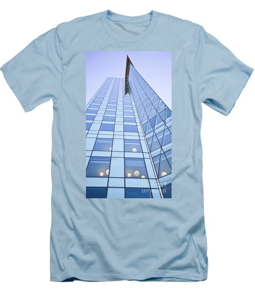 Central City Men's T-Shirt (Slim Fit) by Chris Dutton
