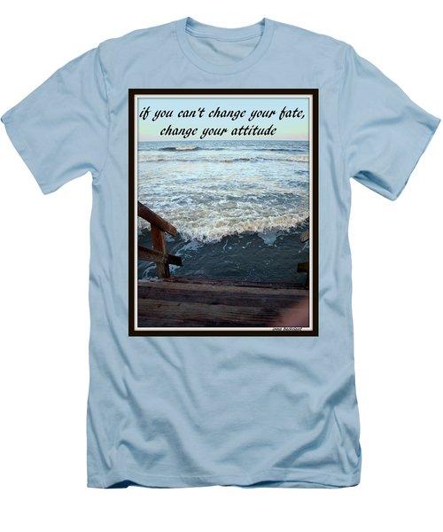 Change Your Attitude Men's T-Shirt (Slim Fit)