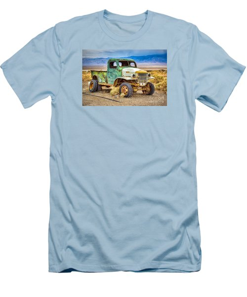 The Charles Manson Forgotten Getaway Truck Men's T-Shirt (Athletic Fit)
