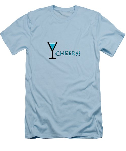 Cheers Men's T-Shirt (Slim Fit) by Bill Owen