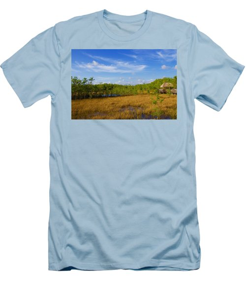 Chickee Hut Men's T-Shirt (Athletic Fit)