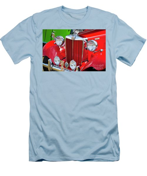 Men's T-Shirt (Slim Fit) featuring the photograph Chillipepper 1952 Mg by Chris Dutton
