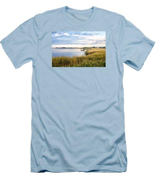 Chisolm Island Shoreline  Men's T-Shirt (Athletic Fit)