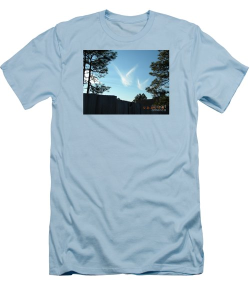 Christmas Angels Men's T-Shirt (Athletic Fit)