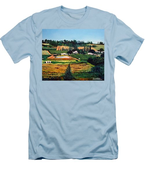 Chubby's Farm Men's T-Shirt (Athletic Fit)