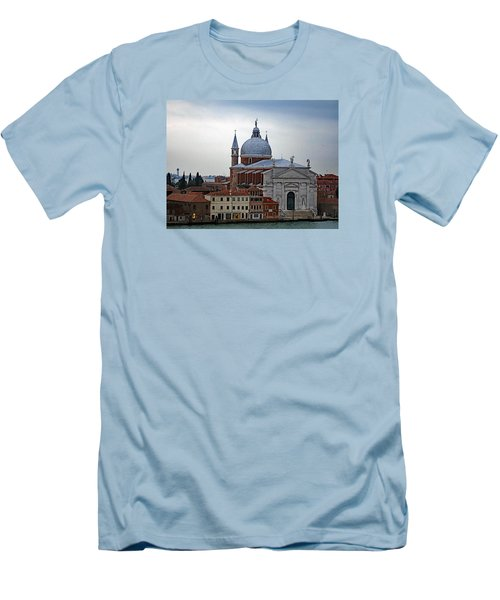 Church Of The Santissimo Redentore On Giudecca Island In Venice Italy Men's T-Shirt (Athletic Fit)