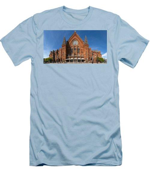 Cincinnati Music Hall Men's T-Shirt (Slim Fit) by Rob Amend
