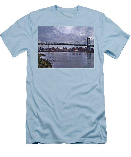 City Scape From Astoria Park Men's T-Shirt (Athletic Fit)