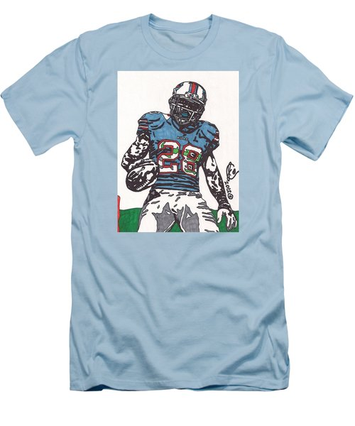 Cj Spiller 1 Men's T-Shirt (Athletic Fit)