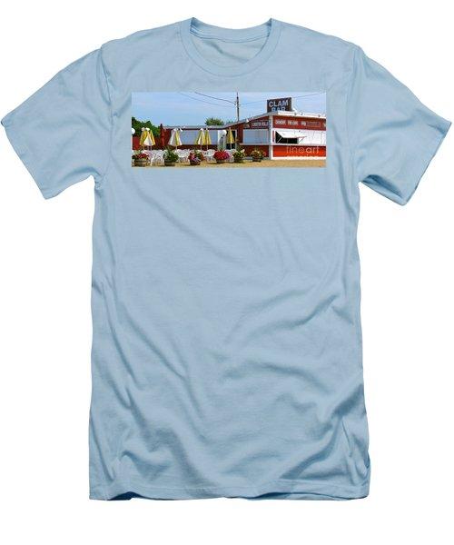 Clam Bar Men's T-Shirt (Athletic Fit)