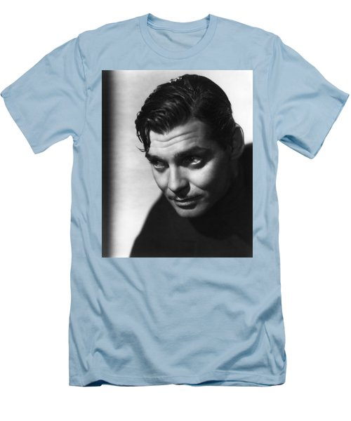Men's T-Shirt (Athletic Fit) featuring the photograph Clark Gable by R Muirhead Art